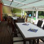 Clubhaus Terrasse