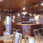 Clubhaus innen, Bar